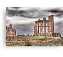 The Ruins of Tynemouth Priory Canvas Print