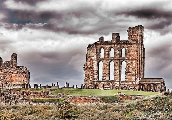 The Ruins of Tynemouth Priory by Trevor Kersley