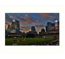 At the Ball Game Art Print