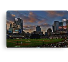 At the Ball Game Canvas Print