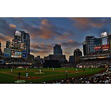 At the Ball Game Photographic Print