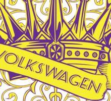 VW Crown - Retro Dubbers Sticker