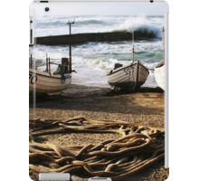 High Tide In Sennen Cove Cornwall iPad Case/Skin