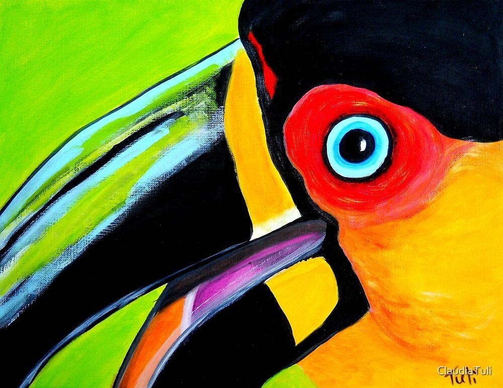 Toucan close up by ClaudiaTuli