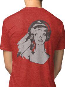 Pop girl reverse Tri-blend T-Shirt
