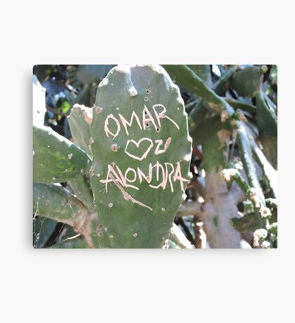 Omar and Alondra Forever Canvas Print