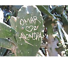 Omar and Alondra Forever Photographic Print