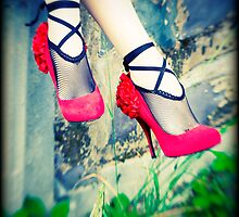 Red Shoes by Minna  Waring