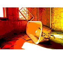ABANDONED BATH Photographic Print