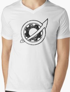 Steins;Gate - Future Gadget Lab (Vintage Black) Mens V-Neck T-Shirt