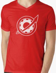 Steins;Gate - Future Gadget Lab (White) Mens V-Neck T-Shirt