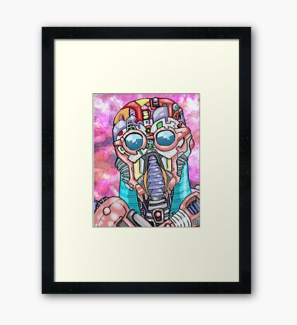 Bot Game Framed Print