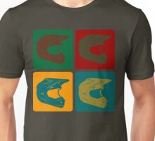 Enduro helmet Warhol Unisex T-Shirt