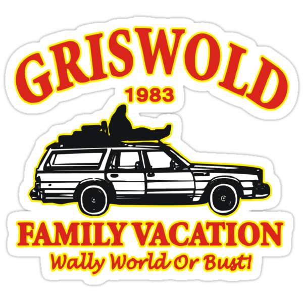 Griswold  Family Vacation 1983 by BUB THE ZOMBIE