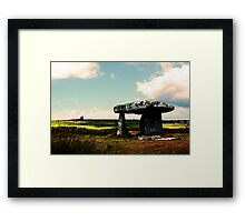 Lanyon Quoit And Ding Dong Mine Framed Print