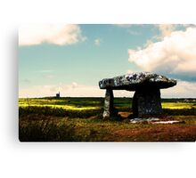 Lanyon Quoit And Ding Dong Mine Canvas Print