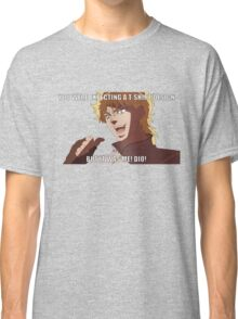 "You were expecting a T-shirt design ""But It was Me! Dio!"" (Plain) Classic T-Shirt"