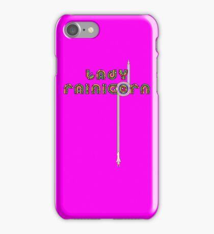 Lady Rainicorn iPhone Case/Skin