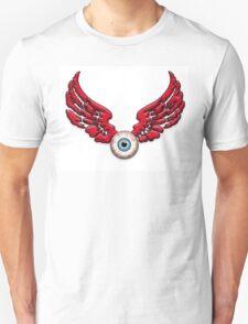 Flying Eyeball Red wings T-Shirt