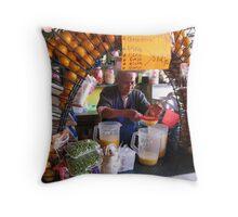 Do you like fresh fruit juice? Throw Pillow