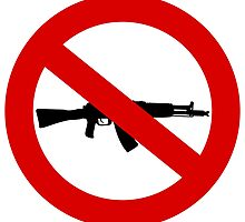 Weapons Prohibition sign by muli84