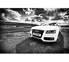 Audi A5 Photographic Print