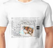Puppy Blue Unisex T-Shirt