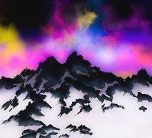 Snowy Mountains by joelionbat