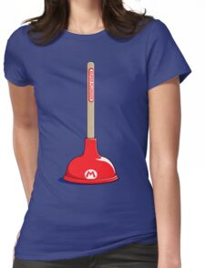Super Plunger Womens Fitted T-Shirt