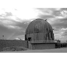 Stormy Skies Over The Observatory Photographic Print