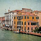 Venetian Canal Intersection by Gerda Grice