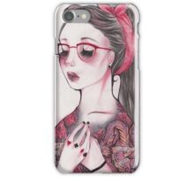Keep your secrets iPhone Case/Skin