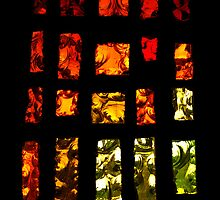 Fiery stained glass by moor2sea
