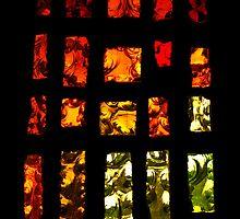 Fiery stained glass by moor2sea