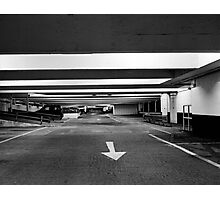 carpark two Photographic Print