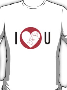 I Love You Totoro T-Shirt