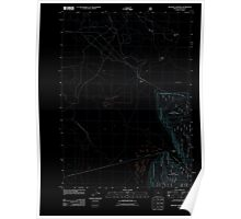 USGS Topo Map Oregon Military Crossing 20110808 TM Inverted Poster
