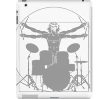 da Vinci percussion lines iPad Case/Skin