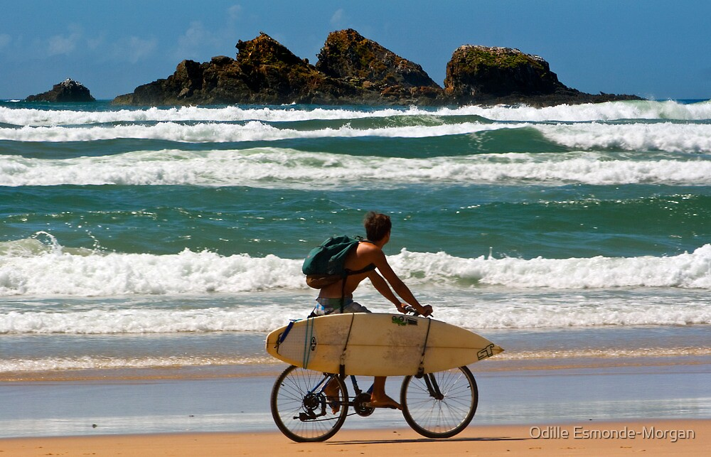 An Aussie Surfer by Odille Esmonde-Morgan
