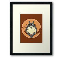 My Neighbour Totoro Framed Print