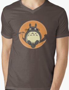 My Neighbour Totoro Mens V-Neck T-Shirt