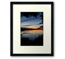 Peek of Beauty Framed Print