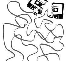 broken cassette tape salad by muli84