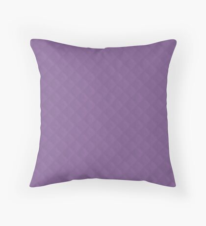 Amethyst Orchid Puffy Stitched Quilt Throw Pillow