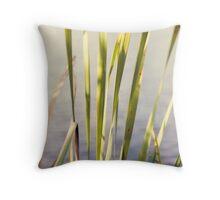 Abstract Grass Throw Pillow