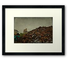 Waste Framed Print