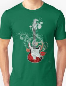 The flower guitar  Unisex T-Shirt