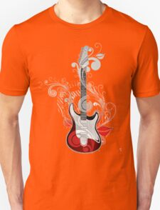 The flower guitar  T-Shirt