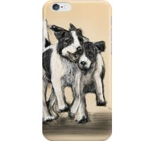 Shoulder to shoulder iPhone Case/Skin