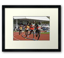 Distance Runners Framed Print